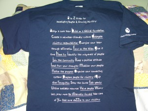 Equipping t-shirt